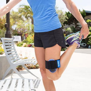 Oska Pulse helps with sporting injuries